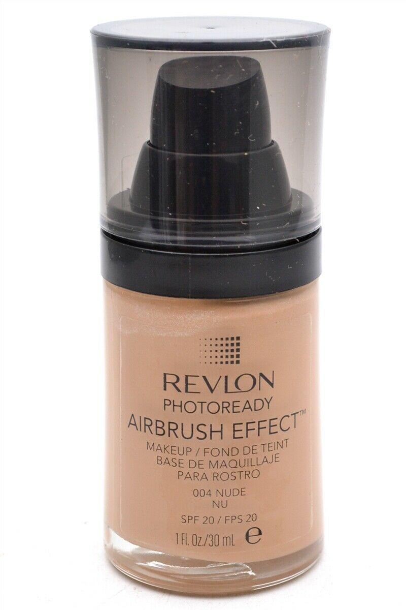 Revlon PhotoReady Airbrush Effect Makeup, Nude/004, 1