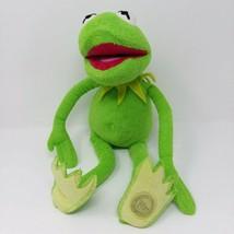 "Muppet Movie Kermit Plush 11"" Authentic Disney Store EUC Patch on Foot - $18.66"