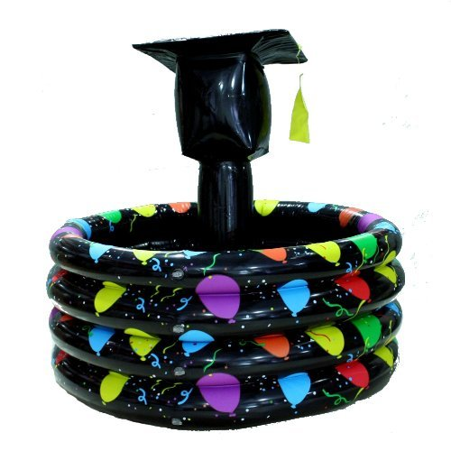 Graduation Hat Inflatable Cooler Party Supplies by FUN EXPRESS
