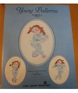 YOUNG BALLERINA   -   CROSS STITCH LEAFLET - $6.88