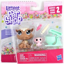❤️ LPS Littlest Pet Shop SERIES 2 Cookie Hippomont & Sugarplum Elletrunk... - $14.01