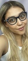New PRADA VPR 0T1 MFT-1O1 51mm Blue Cats Eye Women's Eyeglasses Frame  #6 - $159.99