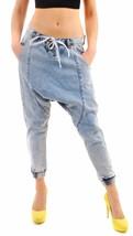 One Teaspoon Women's Blue Malt Luxe Harems Jeans 17433B Size 26 RRP $138... - $64.33