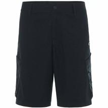 Oakley 442348 Men's Icon Chino Shorts, Blackout - sz 31 black new nwt - $59.99