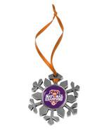 Clemson Tigers National Champion Snow flake Snowflake Ornament - $13.86