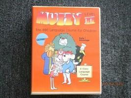 Muzzy Level II GERMAN - BBC Language Course for Children-VHS, Cassette &... - $37.08