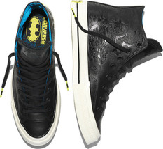 Converse CTAS 70 x DC Comics Batman 155358C Leather Black Sizes 5 - 8 Un... - $74.99