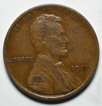 1911D Lincoln Cent Coin Lot A 215 image 1