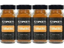 TJ Spices Ground Turmeric (4 Pack) - $26.72