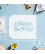 Happy Birthday 783-B273 Stencil - $4.00+