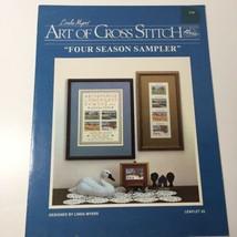 Four Season Sampler Coss Stitch Pattern Book  Linda Myers'  - $9.74