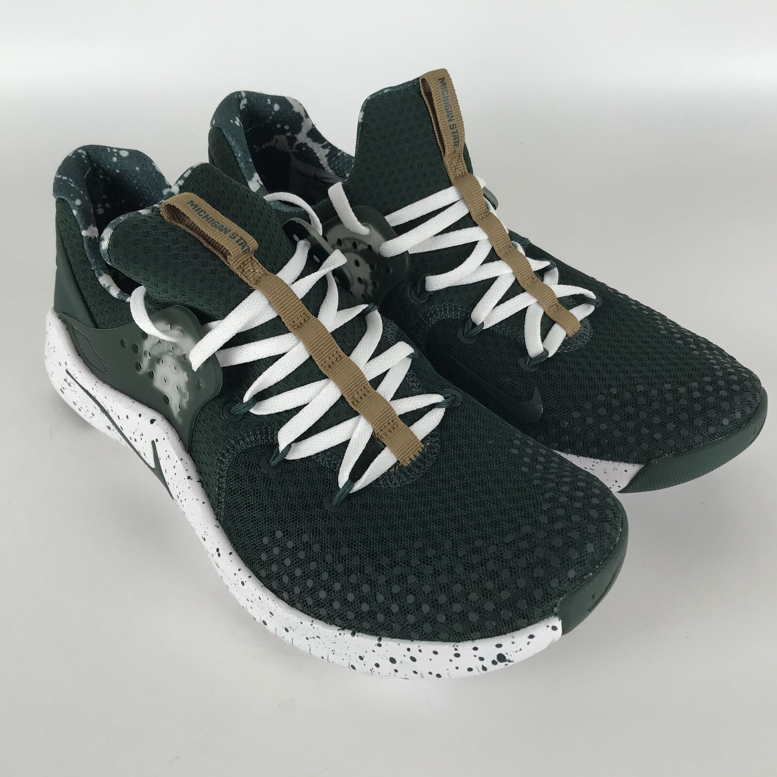Nike Free TR8 Training Shoes Men's size 11 Michigan State Spartans AR0429-300 image 2