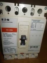 EATON FD 35K Industrial Circuit Breaker 60 amps 3 poles 600 VAC 250 OVDC ~ - $186.99