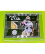 NFL DEVARY HENDERSON NEW ORLEANS SAINTS 2012 PANINI GAME-WORN PATCH SP 0... - £3.83 GBP