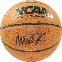 Magic Johnson signed NCAA Wilson Indoor/Outdoor Basketball (black sig si... - $148.95