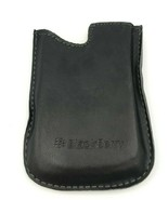 BlackBerry Authentic Black Slim Pocket Pouch Leather Case Cover Sleeve B... - $6.92