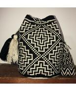 Authentic 100% Wayuu Mochila Colombian Bag Large Size Best Selling unise... - $86.00