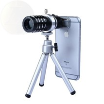 Apexel 12X Manual Focus Telephoto Camera Lens Kit With Mini Tripod And New - $38.95