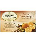 Twinings Orange & Cinnamon Spice Tea - 20 ct (1.41 oz) - $5.24