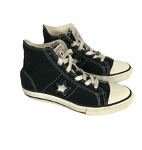 Converse All Star Chuck Taylor Junior Youth Size 2 Hi Top Lace Up Shoes ... - $14.50