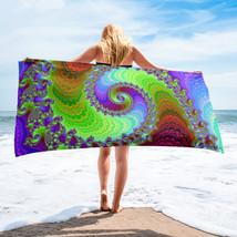 beautiful spiral beach Towel - $38.95