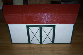 toy doll house barn garage hand made wood - $99.99