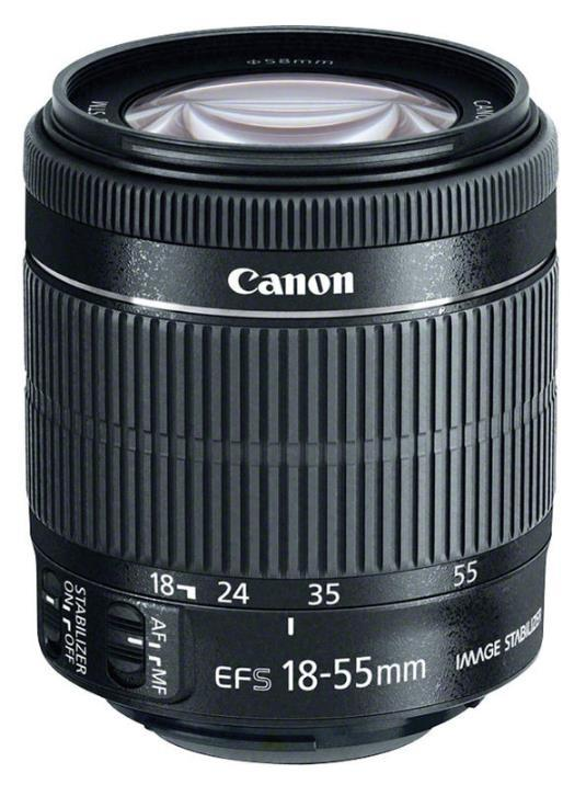 Canon Canon EF-S 18-55mm f/3.5-5.6 IS STM Lens [BLACK-BULK] / SLR Lens / Photogr
