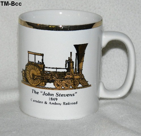 Tm bcc john stevens train mug