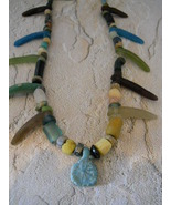 Necklace: Ancient Egyptian Beads (300 BC - 100 ... - $250.00