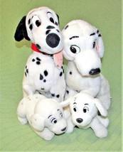 Vintage 101 Dalmatians PERDITA Pongo PENNY ROLLY EURODISNEY Dog Plush DI... - $46.74