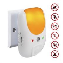 Vensmile Ultrasonic Indoor Plug-in Pest Repeller With Night Light Get Ri... - $24.99