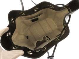 GUCCI Diamente Leather Black Shoulder Bag 354229 One shoulder Italy Authentic image 8