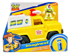 Toy Story Buzz Lightyear & Pizza Planet Truck And Pizza Launcher Imagine... - $15.99