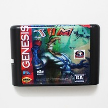 Earth Worm Jim 16 bit MD Game Card For Sega Mega Drive For Genesis - $9.99