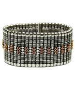 Gerochristo 6017 -  Solid 18K Gold, Sterling Silver & Rubies Medieval Br... - $4,220.00