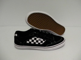 Vans skateboarding shoes checkerboard black/white size 10.5 us new with box - $54.40