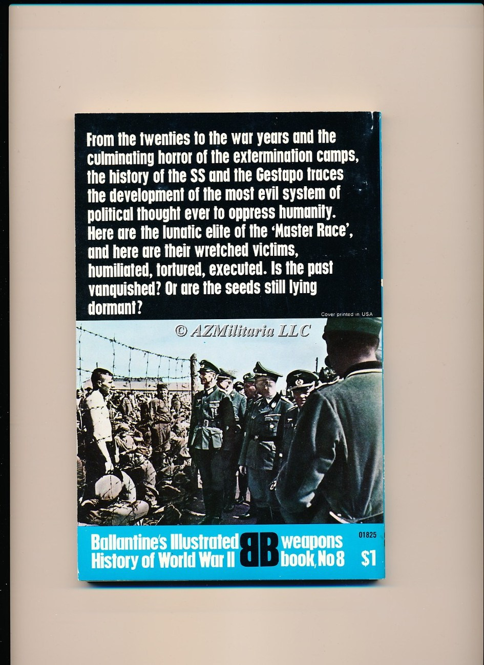 SS and Gestapo: Rule by Terror  (Weapons Book, No 8)