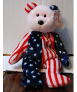 TY Spangle Patriotic Beanie Baby - $150,60 MXN