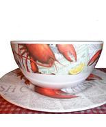 Lobster Chowder Bowls Plates Melamine Set 4 - $29.99