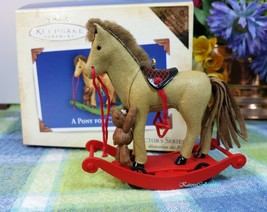 Hallmark Pony for Christmas Colorway/repaint 2004 ornament New - $29.65