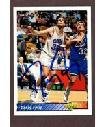 DANNY FERRY AUTOGRAPHED 1992-93 UPPER DECK CARD #250 CLEVELAND CAVALIERS - $8.86