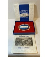 White House Historical Association Christmas Ornament 2000 with pamphlet - $19.99