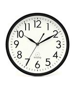 DreamSky 10 inches Silent Non-Ticking Quartz Wall Clock Decorative Indoo... - $13.69