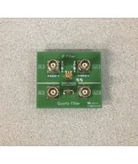 Omicron Lab ob Filter Quarz Filter Bodefilt-1 Prüf Platte - $129.99