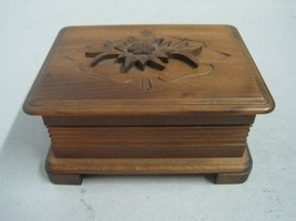 Music Box Reuge in wood working - $60.43