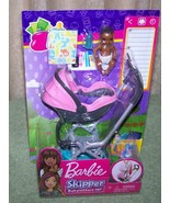 Barbie Skipper BABYSITTERS INC Stroller and AA Baby Playset New - $16.50