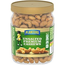 Planters Unsalted Premium Cashews, 26.0 oz Jar - $29.32