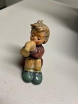 """Goebel Hummel Figurine 391 """"Girl With Trumpet""""  1968 Germany 2 3/4"""" - $37.40"""