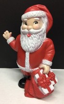 "RARE Huron Products 8 1/2"" Santa Claus Christmas Kids Plastic Bank Colle... - $37.05"