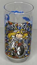 Vintage 1981 McDonalds The Great Muppet Caper Glass Jim Henson Miss Piggy - $9.89